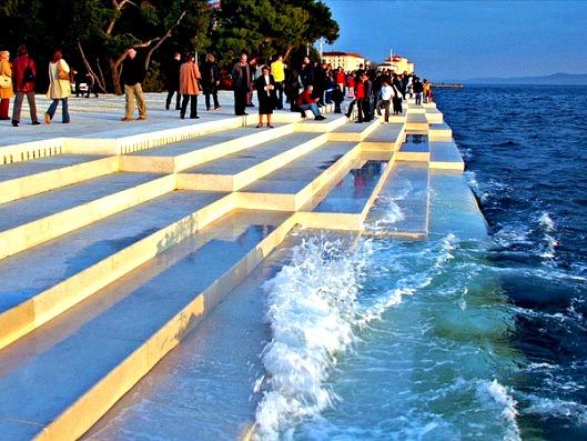 zadar_sea_stairs_evening Nikola_Bašić-tourism_zadar voyage challenge